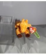 TY Retired Beanie Baby Twigs Giraffe 1995 Original Ty With Case - $14.84