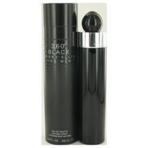 Perry Ellis 360 Black by Perry Ellis Eau De Toilette Spray 6.8 oz for Men - $37.99