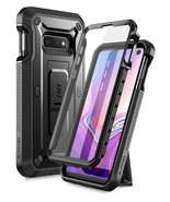 Galaxy S10e Unicorn Beetle Pro Full Body Rugged Holster Case (Black) - $13.99