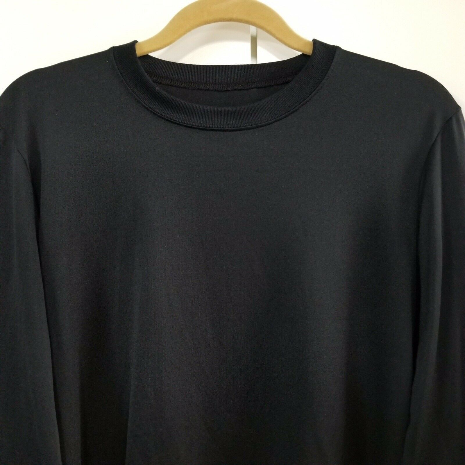 Primary image for Patagonia Mens Capilene Long Sleeve Lightweight Shirt - Black - M