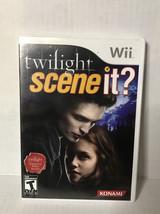 Scene It Twilight - Nintendo Wii Game - Tested & Working - $4.94