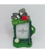 Treasured Memories Golf Bag Club Theme 3.5 x 5 Picture Frame by Ganz Ver... - $9.46
