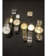 Vintage Timex Watch Lot For Parts Or Repair (b) - $341.55