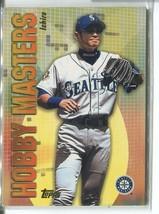 ICHIRO SUZUKI 2002 Topps Hobby Masters #HM6 Mariners - $4.49