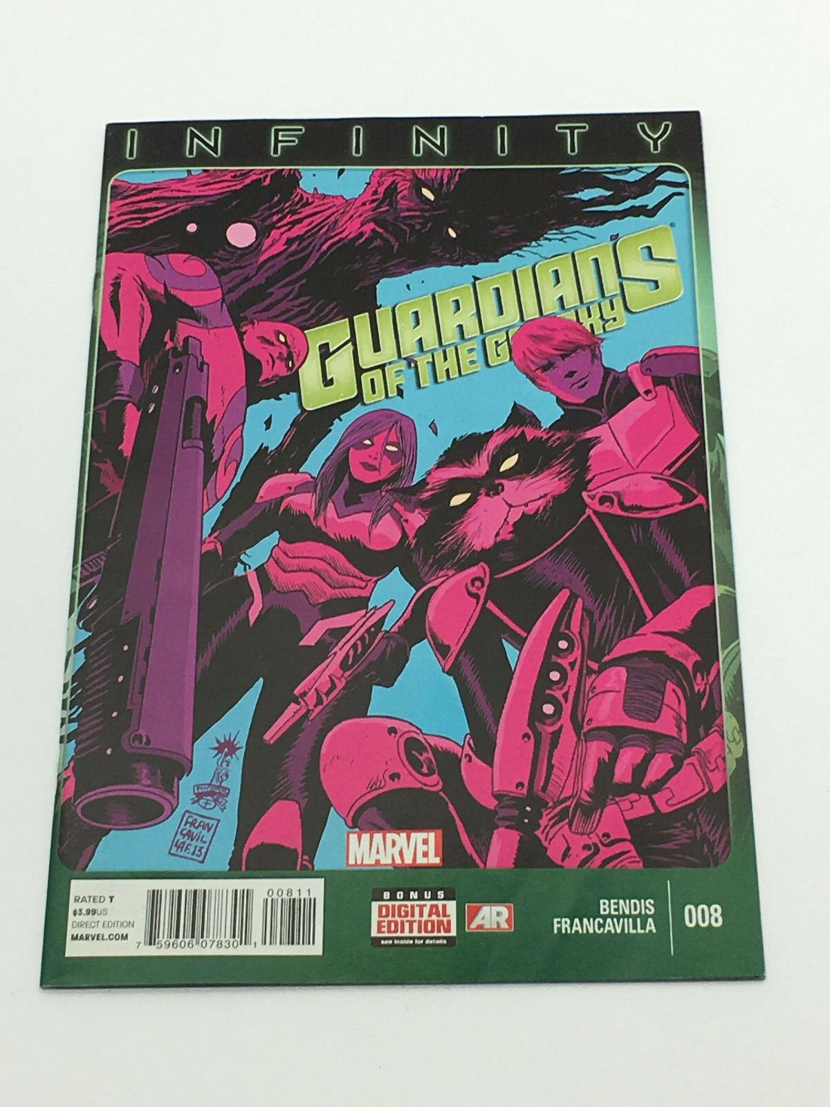 MARVEL Comics, Infinity, Guardians of the Galaxy #008 - Oct. 2013 FREE SHIPPING