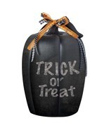 Halloween Decor Chalkboard Pumpkin Decoration Black Outdoor Yard Indoor ... - £11.84 GBP