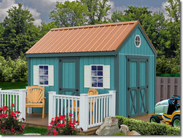 Best Barns Regency 8x12 Wood Storage Shed Kit - ALL Pre-Cut - $2,106.72
