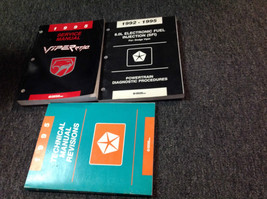 1995 DODGE VIPER MODELS Service Shop Repair Manual SET W Powertrain + Re... - $188.09