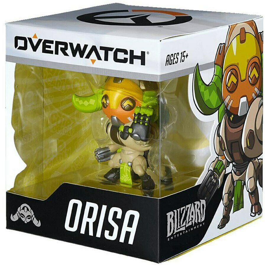 """Blizzard 3.25"""" Orisa Overwatch Cute But Deadly Action Figure Figurine NEW in Box"""