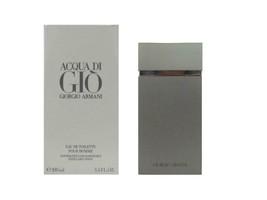 Acqua di Gio 3.4 oz Eau de Toilette Spray Refillable for Men by Giorgio Armani - $69.95