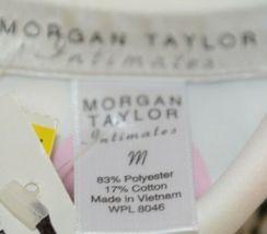 Morgan Taylor Intimates Pajama Set Ladies Medium Bubble People Grade B image 8