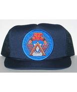 SGC Stargate Command Logo Patch on a Blue Baseball Cap Hat NEW - $14.50