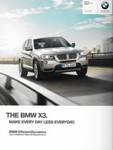 2012 BMW X3 sales brochure catalog US 12 xDrive 28i 35i - $8.00