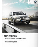 2012 BMW X3 sales brochure catalog US 12 xDrive 28i 35i - $9.00