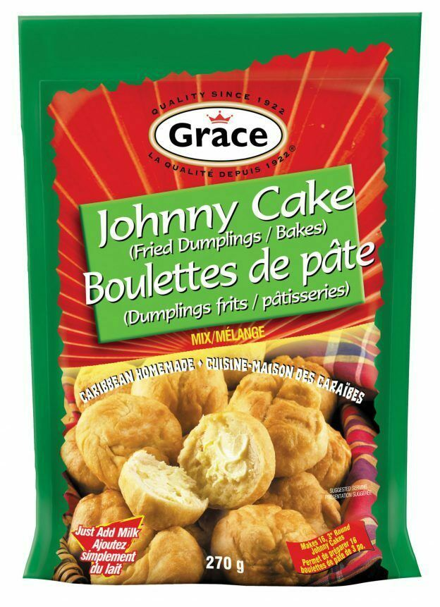 Grace Johnny Cake Fried Dumplings Unique Jamaican Dough 270g - $12.19