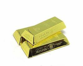 Yeahgoshopping Gold Bar Chocolate Shaped Bullion Butane Gas Lighter - One Lighte