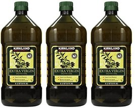 Pack Of 3 Kirkland Signature Organic Extra Virgin Olive Oil, 2lbs Free Shipping - $78.99