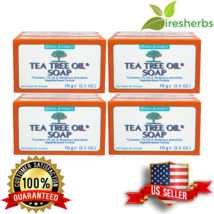 TEA TREE OIL BODY HAND 100% NATURAL Melaleuca ANTIFUNGAL HERBAL PURE SOA... - $20.24