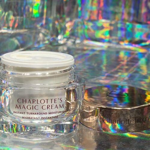 NWOB Charlotte Tilbury Magic Cream 15mL Great For Travel Ultra Luxe Moisturizer