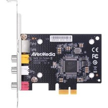 AVerMedia SD PCIe Frame Grabber with Composite - S-Video Interfacing - $154.57