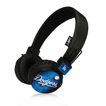 LA Dodgers Bluetooth, FM Radio, Sd Card Headphones Black - $26.00