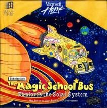 Magic School Bus: Explores Solar System (Ages 6-10) PC-CD, 1994-NEW CD i... - $8.98