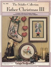 Father Christmas II, The Schiffer Collection Cross Stitch Pattern Bookle... - $4.95
