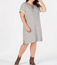 Style & Co. Plus Size Lace-Up Swing Dress Size 3X - $22.72