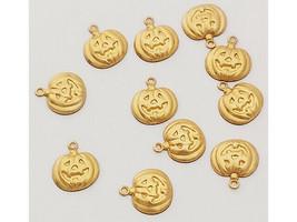Jack-O-Lantern Pumpkin Charms, Set of 11
