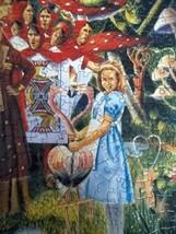 Alice in Wonderland 550 Pc Puzzle Queen of Hearts Find 89 Hidden Hearts - $29.65