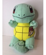 Pokemon Squirtle Character Plush 14in Stuffed Animal Doll Toy Factory - $21.37