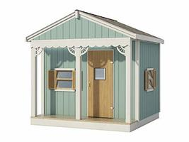 Kids Playhouse Plans DIY Micro Cottage Guest House Backyard Storage Shed... - $14.95