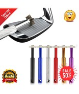 Golf Club Groove Sharpener Cleaner Tools Iron Wedge Hook to Belt Bag Cle... - £15.26 GBP