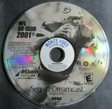 NFL QB Club 2001 for Sega Dreamcast - Midnite Video Edition - $7.84