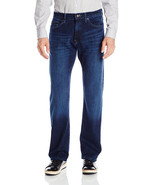 NEW NAUTICA RELAXED FIT INSPIRED BY THE SEA ANCHOR STRETCH BLUE JEANS $79 - $34.99