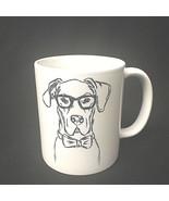 Dog Mug With Glasses Coffee Tea Collectible Canine - $14.85