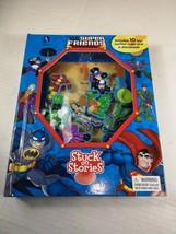*DC*SUPERFRIENDS* -Stuck on Stories -2014 -Phildal -3yrs+ -Missing Batman - $18.40