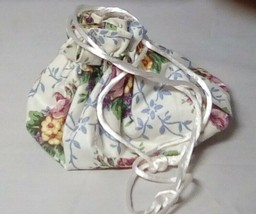 Longaberger 1998 Mothers Day Rings and Things Liner/jewelry Bag Used - $13.67
