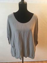 Vince Bergdorf Goodman Women's Beige Dolman Sleeve Boxy Sweater Size Small - $418,56 MXN