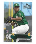 2017 Topps National Baseball Card Day Jharel Cotton Promo Rookie Card - $2.95