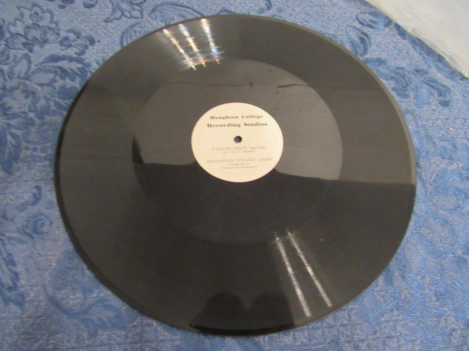 Vintage Houghton College Choir Recording Studios LP Mueller Butterworth