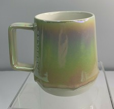 Starbucks Holiday Iridescent Drip Glaze 12 Ounce Mug Cup NEW - $33.26