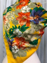 The Specialty House Women's Yellow Floral Print Scarf - $19.80
