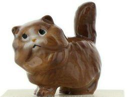 Hagen Renaker Miniature Cat Fat Brown Ceramic Figurine image 10