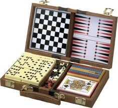 6-in-1 Travel Game Set, Chess, Checkers, Backgammon, Dominoes, Cards, & ... - $42.66