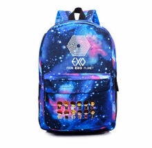 EXO  Schoolbag GOT7 Winner VIXX Starry Sky Backpack Satchel  Kpop - $13.38
