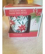 Holiday Mug 14 fl oz. Poinsetta upc 639277820990 - $14.73