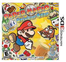 Paper Mario: Sticker Star (Nintendo 3DS, 2012) Video Game - €22,43 EUR
