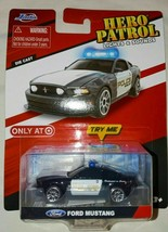 Police Patrol Ford Mustang Lights Sounds Target Exclusive Kids Toys Die... - $8.90