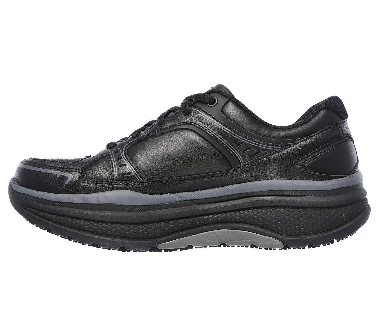 Skechers Work Black shoes Women Memory Foam Slip Resistant Rocker Comfort 77218 image 3
